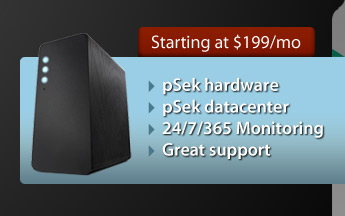 Dedicated servers starting at $199